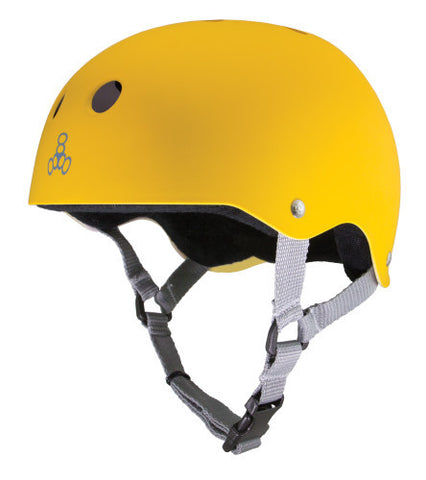 Triple Eight Brainsaver Yellow / Black - Shop Mothership