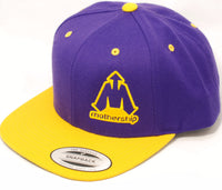 Mothership Two Tone Snapback Gold Purple - Shop Mothership  - 1