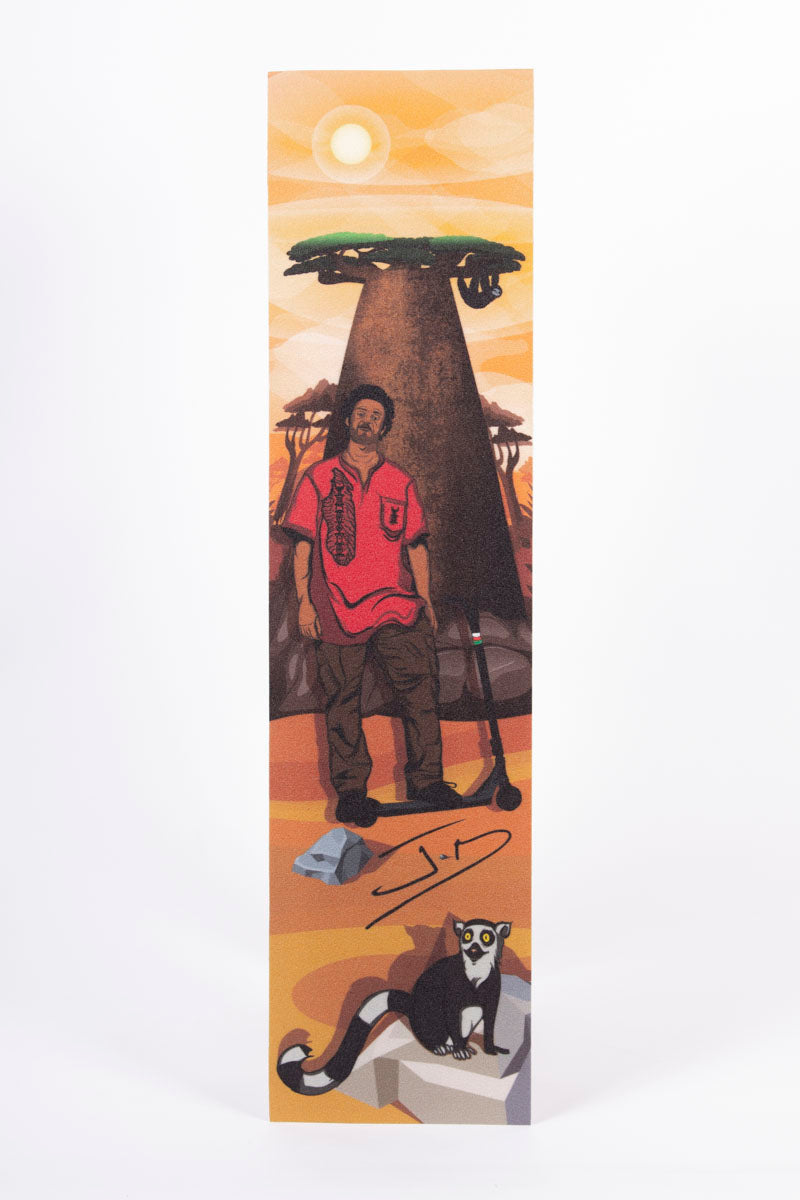 "Hella Grip – ""Fatherland"" GripTape (Jean-Yves ""JD"" Randriambelson Signature) 6″ x 24″"