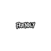 Friendly Logo Sticker - Mothership
