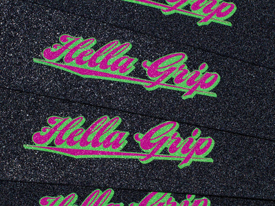 Hella Grip Classic Logo Watermelon Formula G - Shop Mothership  - 3