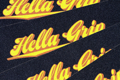Hella Grip Classic Logo Citrus - Shop Mothership  - 3