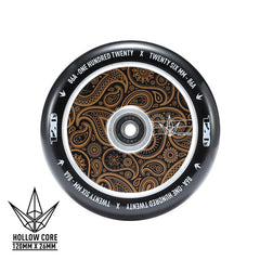 Envy Hollow Core Gold Bandana 120mm Wheel