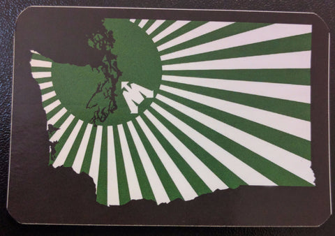 Mothership Rising State Sticker