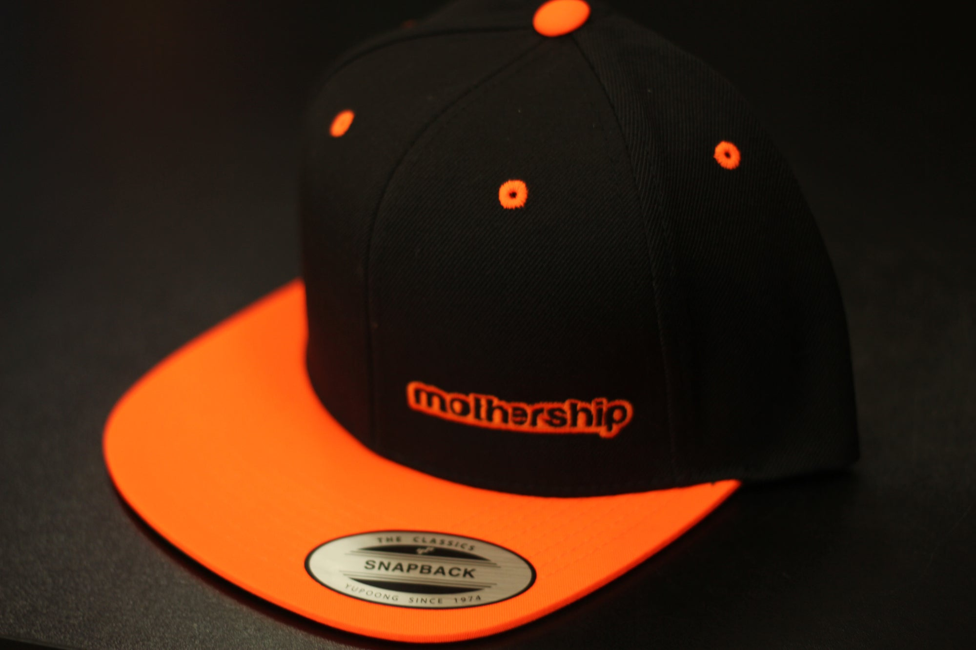 Mothership Two Tone Snapback Orange - Mothership