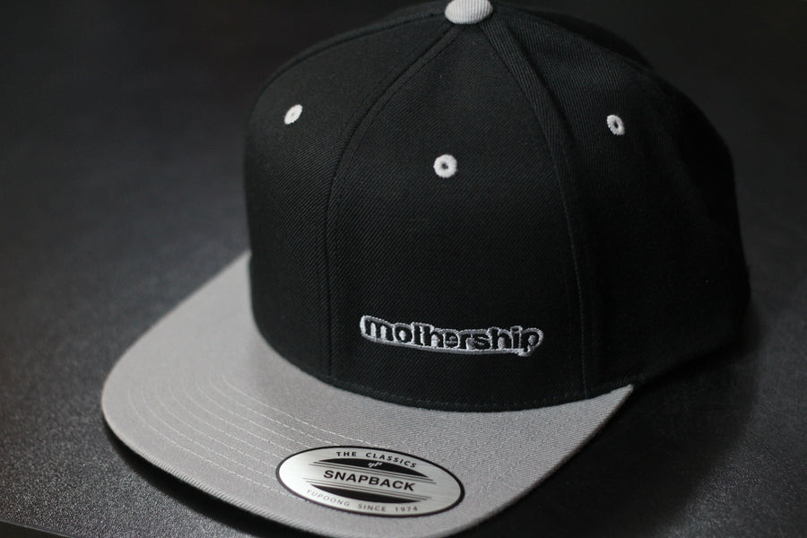 Mothership Two Tone Snapback Grey - Mothership