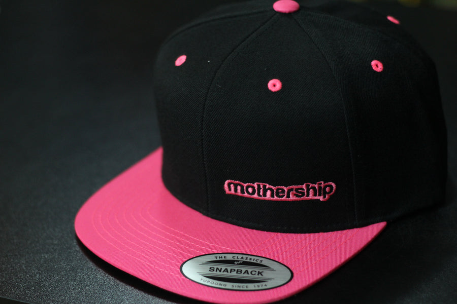 Mothership Two Tone Snapback Pink