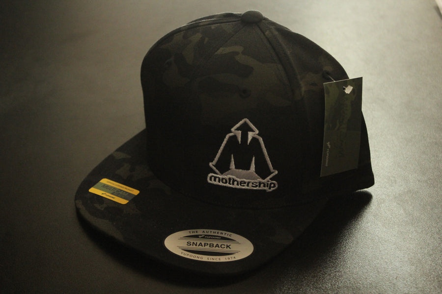 Mothership Dark Camo Snapback