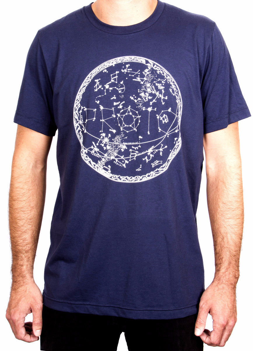 Proto Alex Steadman Constellation Map Tee - Mothership