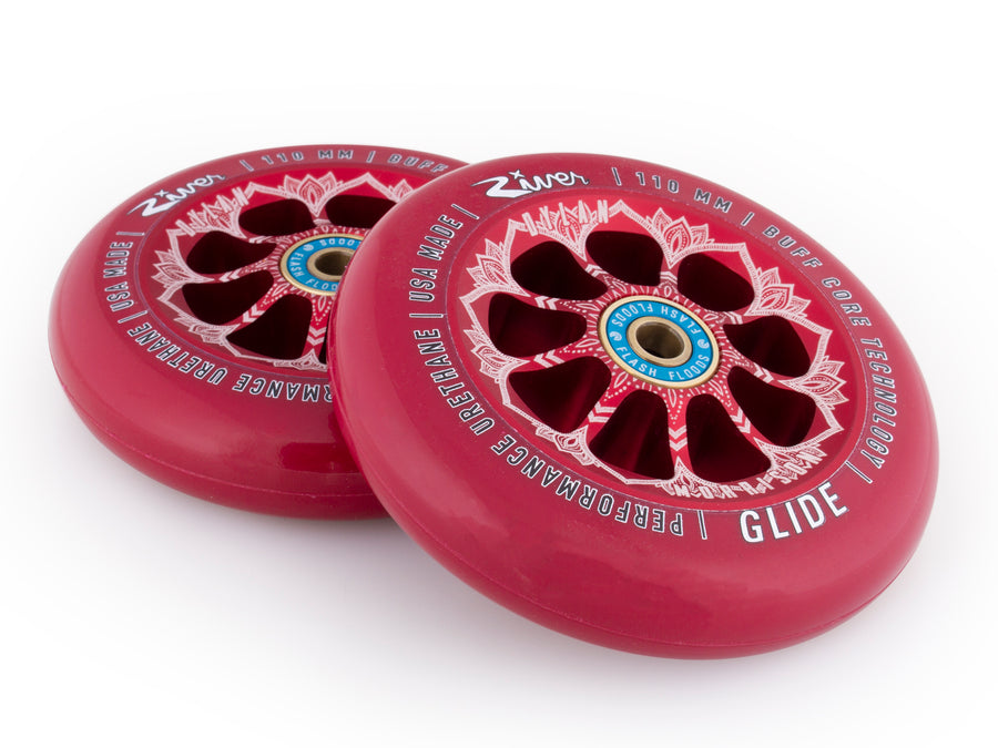 "River Wheel Co – ""Bloody"" Glides 110mm (Dylan Morrison Signature) - Mothership"
