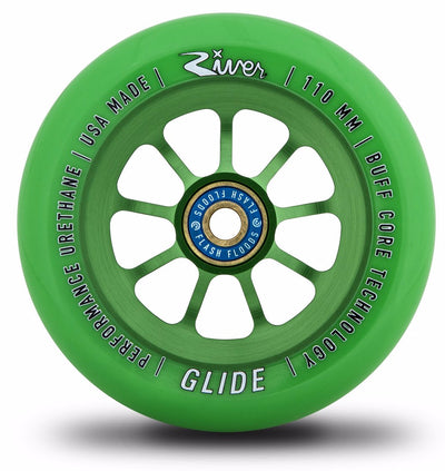 "River Glide ""Emerald"" 110mm Wheels"