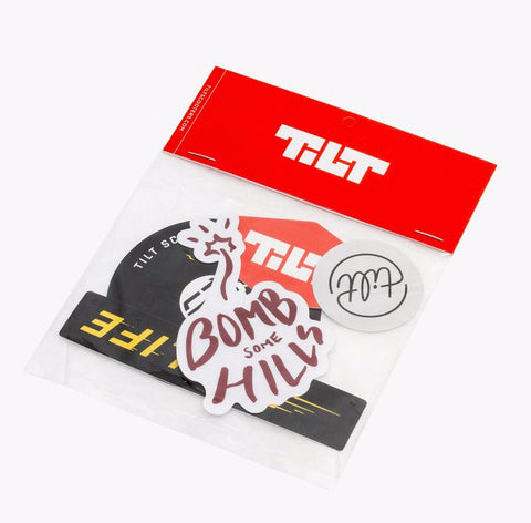 Tilt Sticker Pack