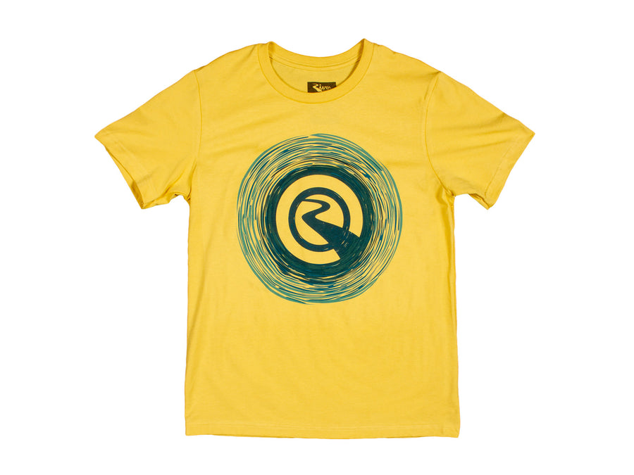 River - Whirlpool Tee (yellow) - Mothership
