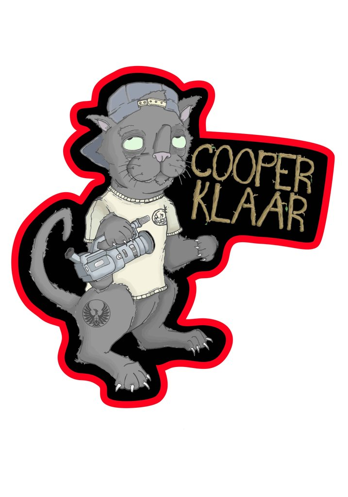 Phoenix Cooper Klaar Sig Graphic Sticker