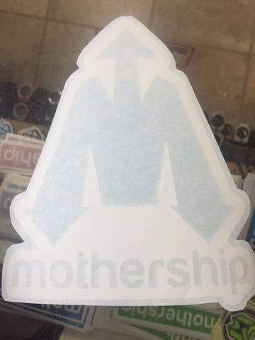 Mothership Decal Stickers 8""