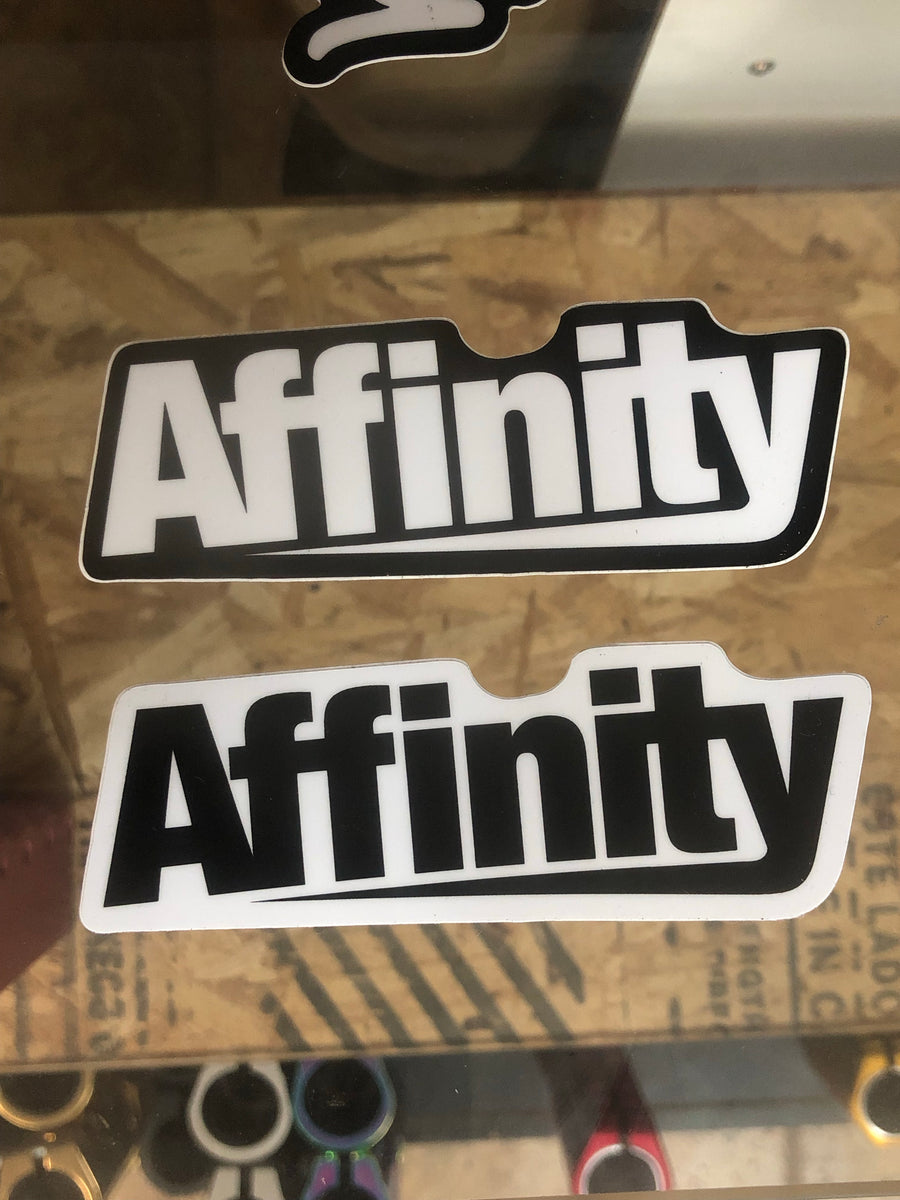 Affinity Outline Sticker - Mothership