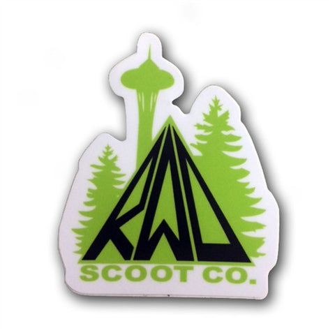 Rad Scoot Co Sticker - Shop Mothership