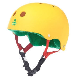 Triple Eight Brainsaver Rasta - Shop Mothership