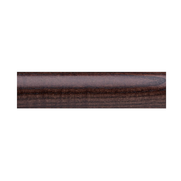 "1 3/4"" Valencia smooth wood pole, 84 espresso"