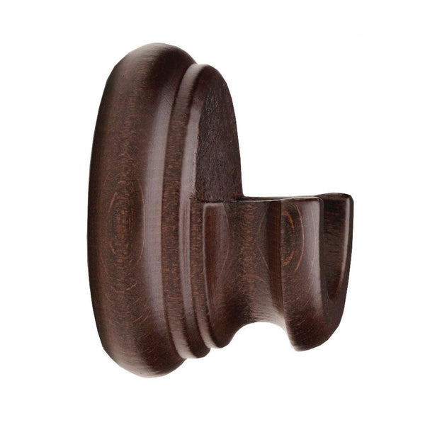 "2"" Cordoba Inside mount bracket, finish  72 walnut"