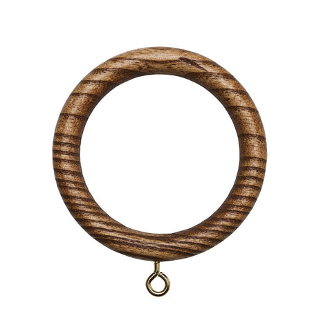"1 3/4"" Valencia Wood Ring, 83 Tiger Oak"