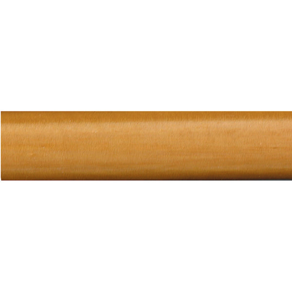 "1 3/8"" smooth wood pole, 73 natural"