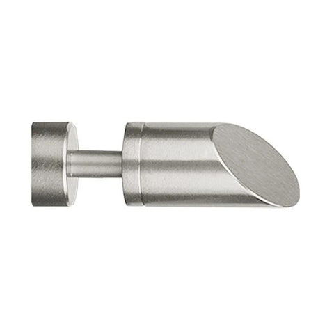 2130SLA Slant Finial, finish 29 satin nickel