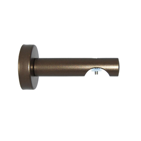 "Deventer 53401 3"" proj. single bracket, finish 81 antique bronze"