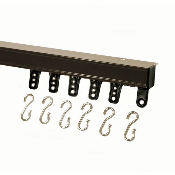 94004 curtain track bronze
