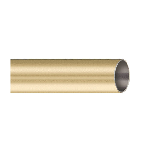 "Dresden B801-20-24 3/4"" brass pole, finish 24 satin brass"
