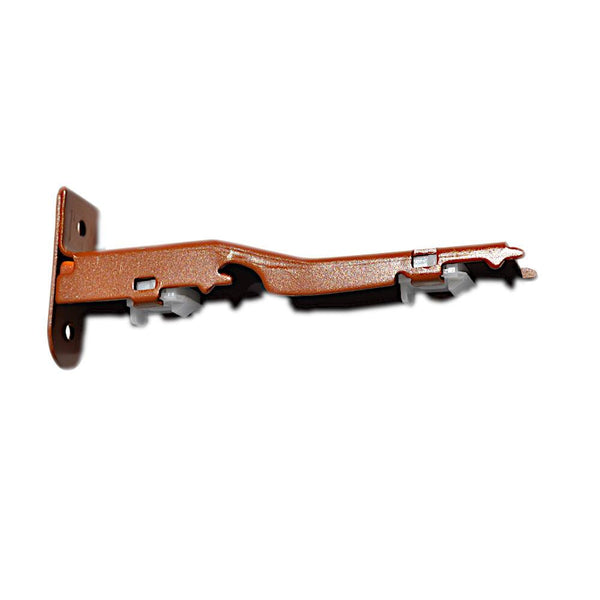 Decor 1 and Decor 2 Double Wall Bracket, Red Oak