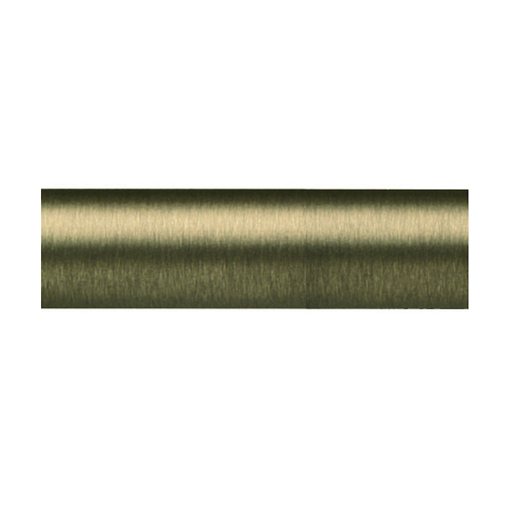 "Lisbon 1 3/16"" Brass Pole, finish 32 Antique Bronze"