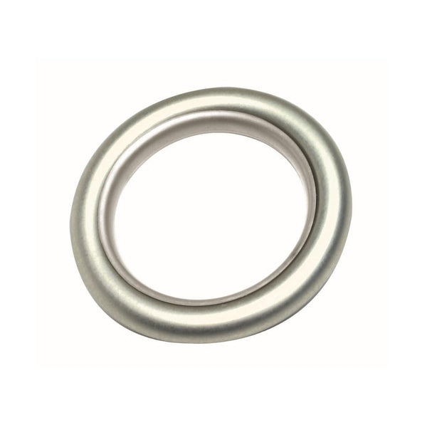 Lisbon Plastic lined smooth ring, finish 29 satin nickel