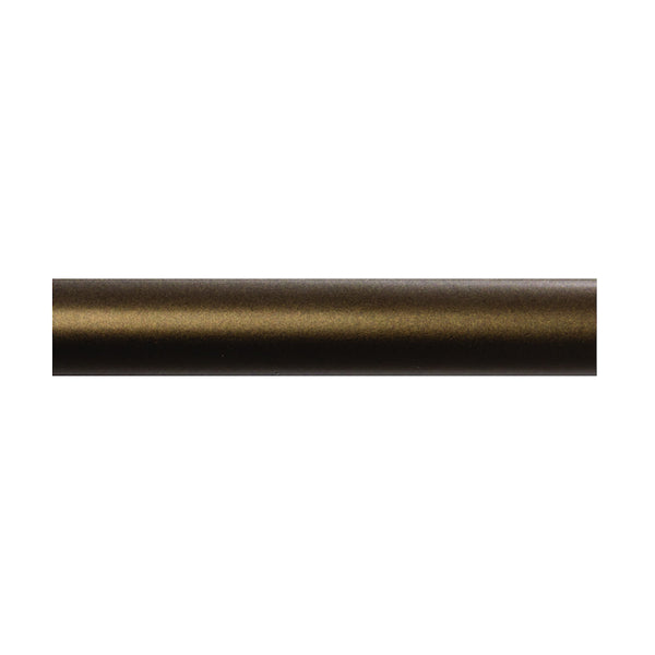 "Deventer Deco 1 1/8"" Pole, finish 81 antique bronze"