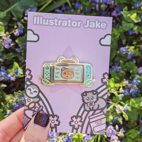 Tom Nook Switch Enamel Pin [Pre-order][Restock]
