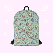 Animal Forest Coloured Icons Backpack