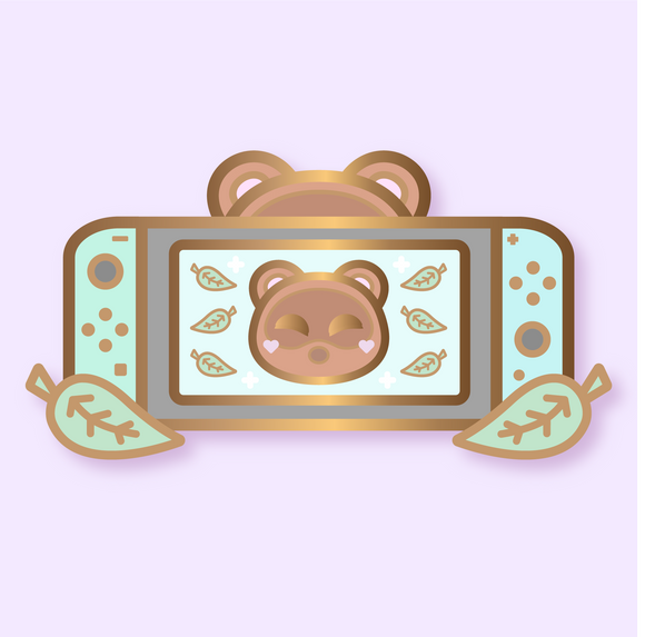 NEW! Limited Edition Tom Nook Switch Enamel Pin [Pre-order]