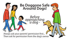 Dog Bite Safety Educator Business Cards