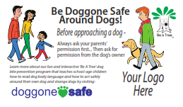 Be Doggone Safe Around Dogs Magnet - Customizable