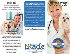 Project tRade Veterinary TriFold