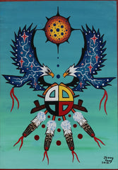 Eagles and Medicine Wheel