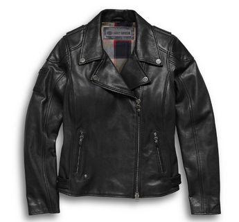 Women's Alameda Leather Biker Jacket