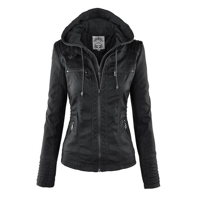Moto Jacket  Hot Turn Down Collor jacket