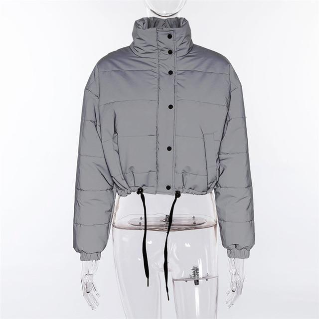 Reflector Cotton-padded jacket