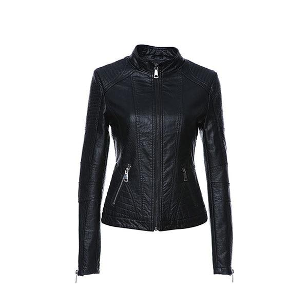 AORRYVLA 2019 New Spring Leather Jacket