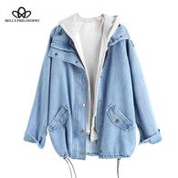 Bella Philosophy 2019 S Button Up Ladies Denim Women Jacket