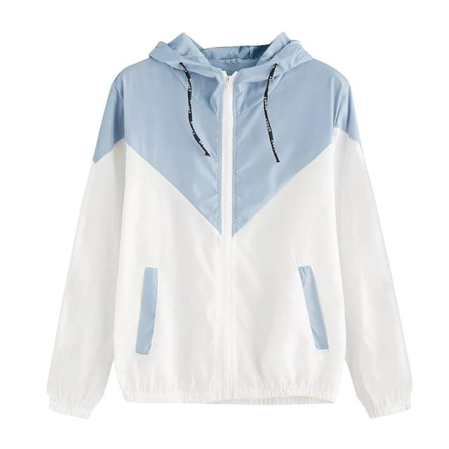 Women Hooded Sports jacket