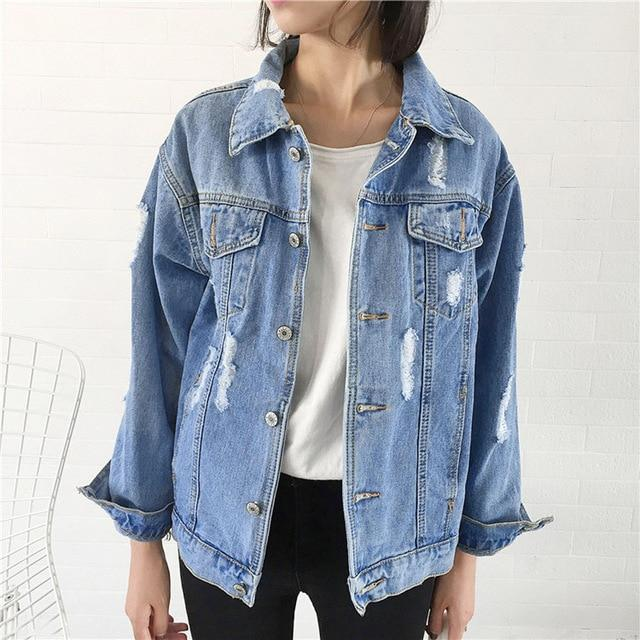 Women Winter Denim Jacket For Women