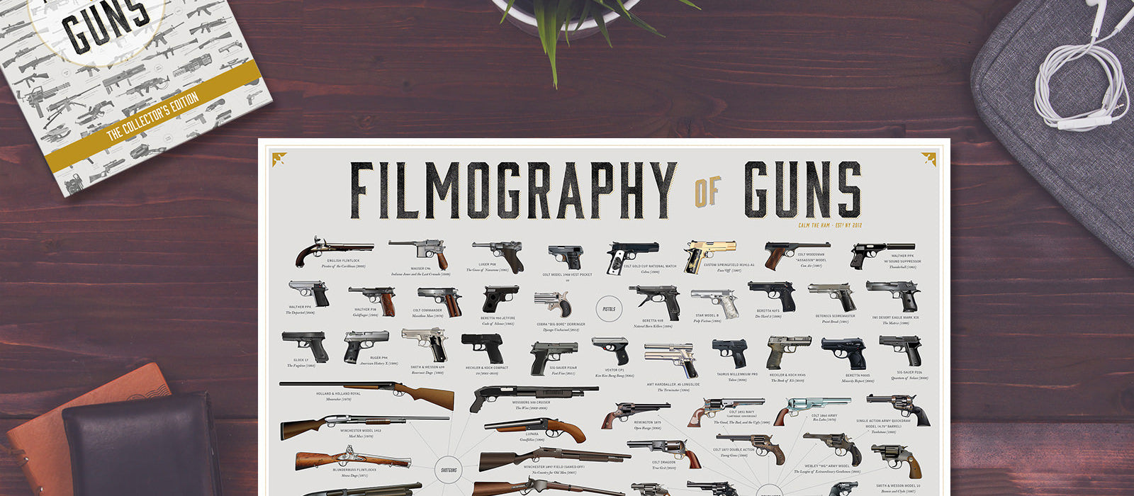 banner-The Filmography of Guns - Insignia Tee
