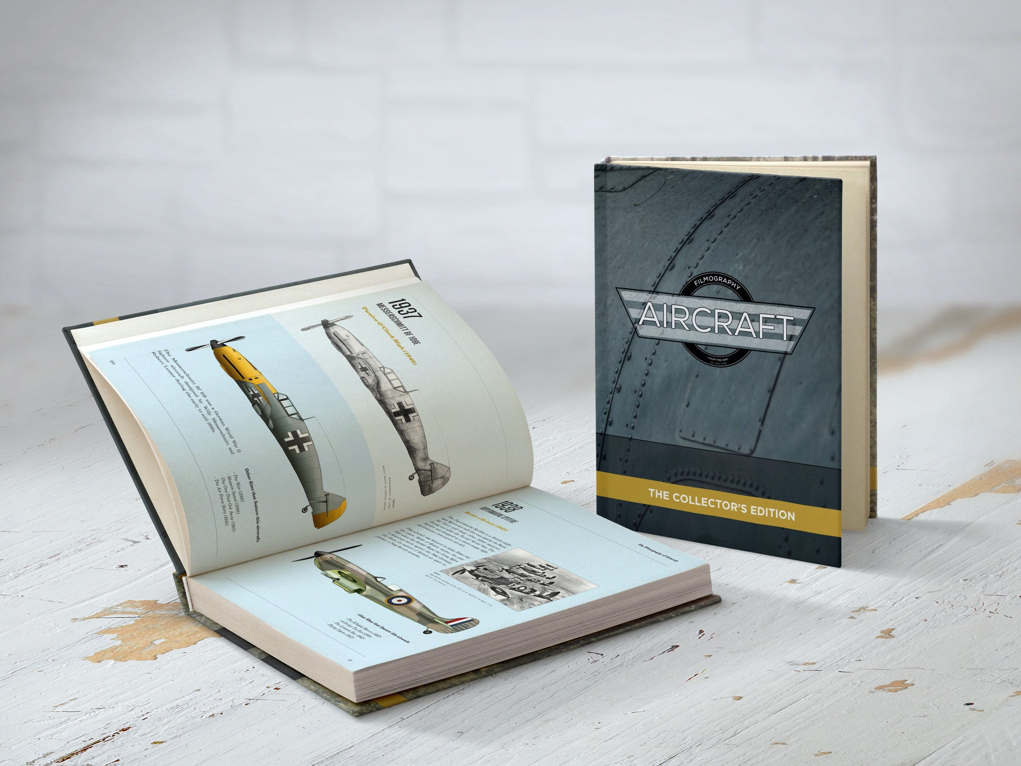 The Filmography of Aircraft - Collector's Book